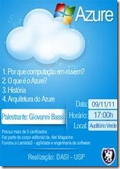 Palestra sobre computação na nuvem e Azure na USP