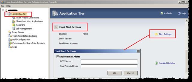 Configurações de SMTP do TFS - vamos ver como lê-las programaticamente?