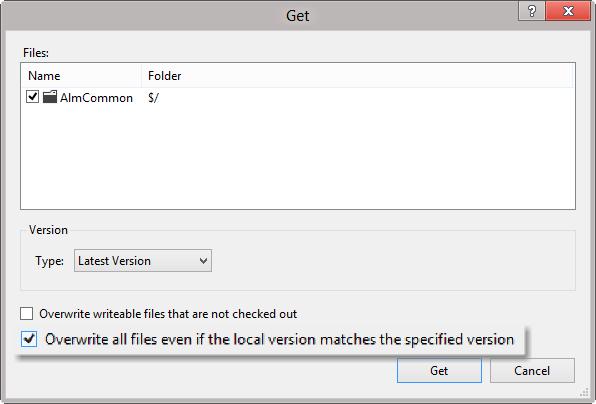 Como transferir seu workspace do TFS de um computador para