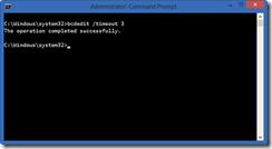 Configurando o timeout do menu de boot do Windows