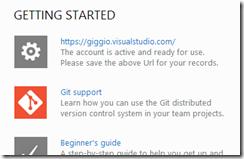 Suporte ao Git na home