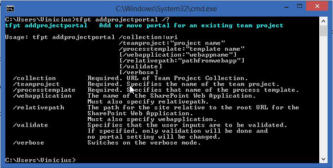 tfpt addprojectportal