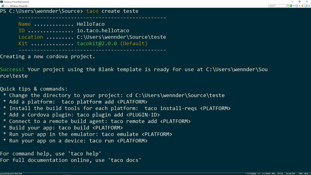 TACO CLI – #3 – Não perca tempo configurando ambiente, use taco install-reqs