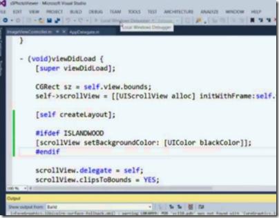 ObjectiveC no Visual Studio