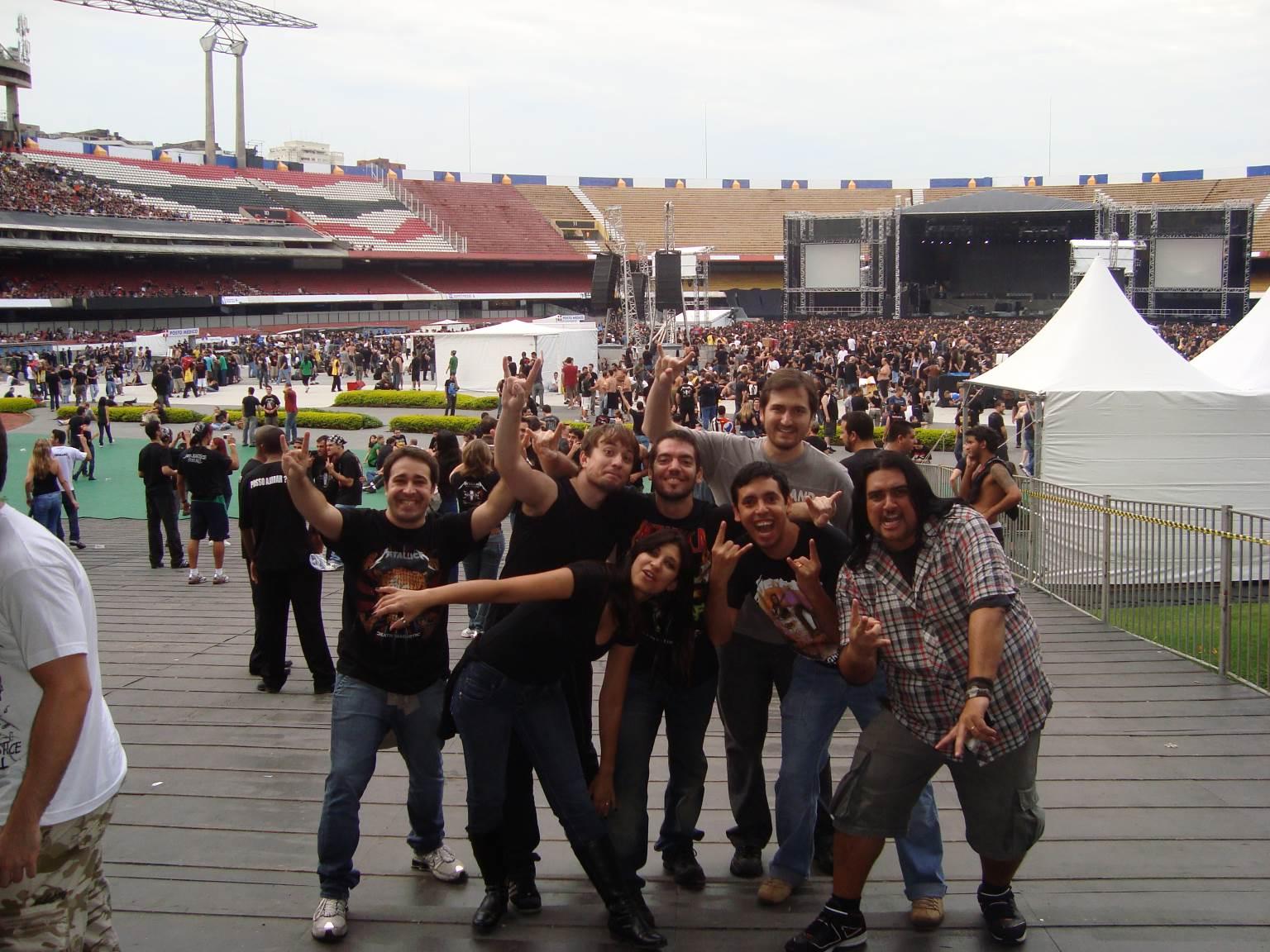 Show do Metallica - 2010