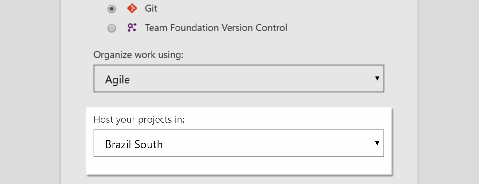 Visual Studio Team Services–agora no Brasil!