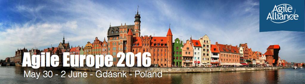 Agile Europe 2016 – Relato do Evento