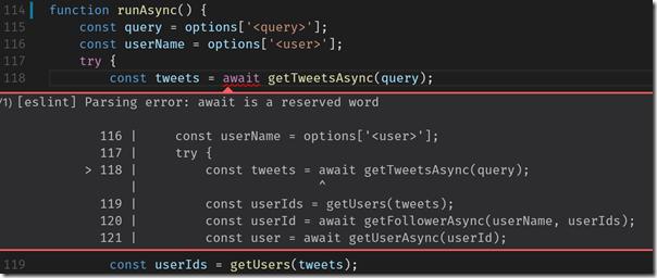 """""""await"""" em função sem """"async"""""""