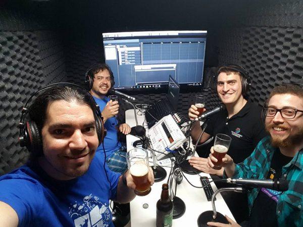 Gravação do PodCast de Cerveja