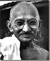 Gandhi rompeu o status quo e mudou o mundo