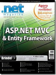 ASP.Net MVC, DDD e Entity Framework na capa da .Net Magazine 58