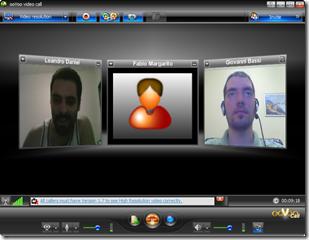 Videoconferência no Oovoo