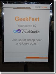 GeekFest no PDC09