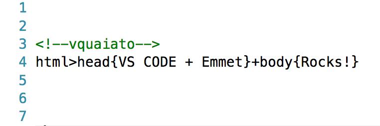 VS Code + Emmet