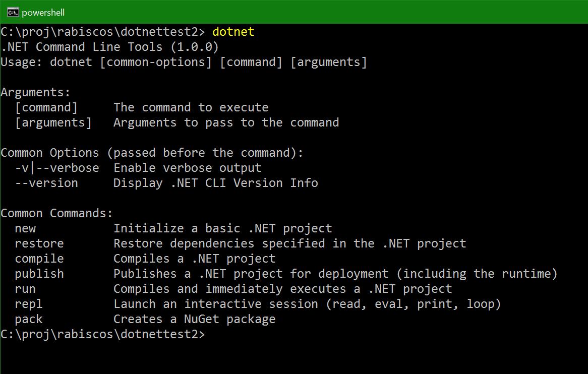 Adeus DNX, bem vindo .NET CLI
