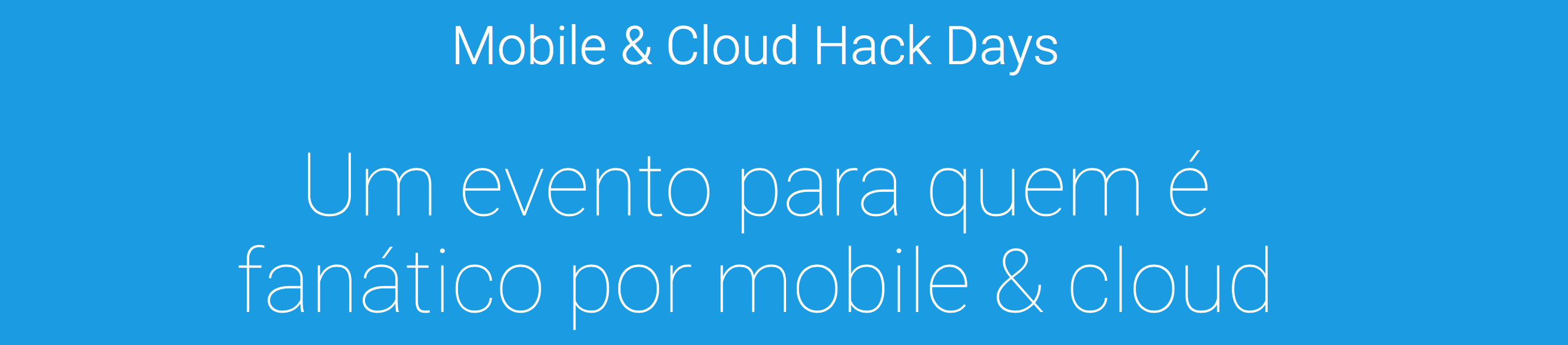 Lambda3 no Mobile & Cloud Hack Days