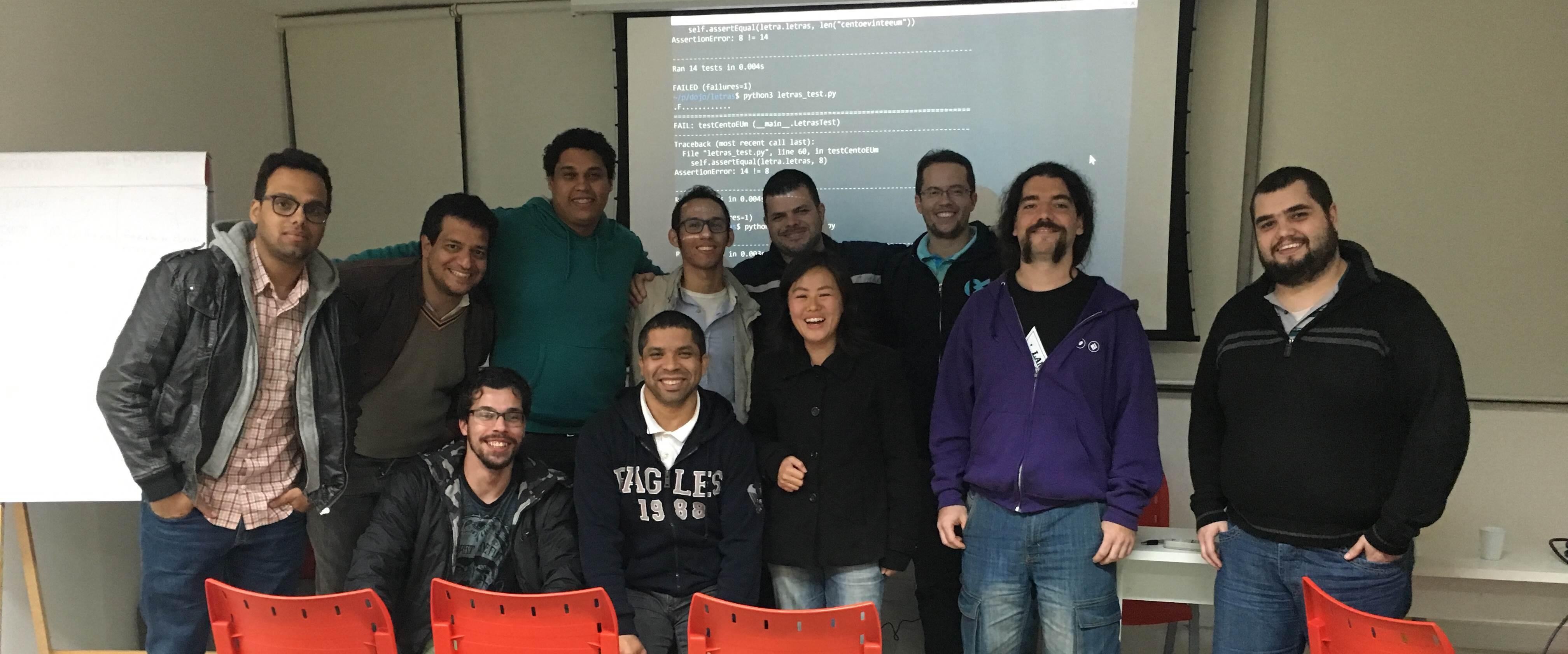 Reunião do Grupy SP na Lambda3 e dojo de Python