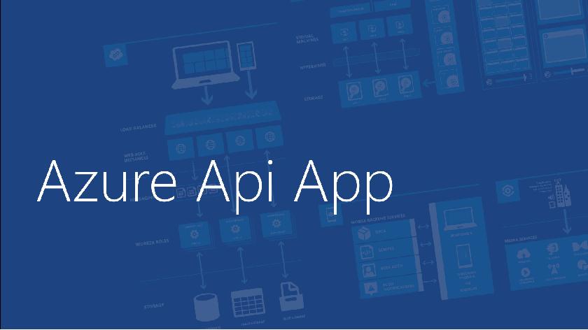 Azure Api App – Deploy ASP.NET Core