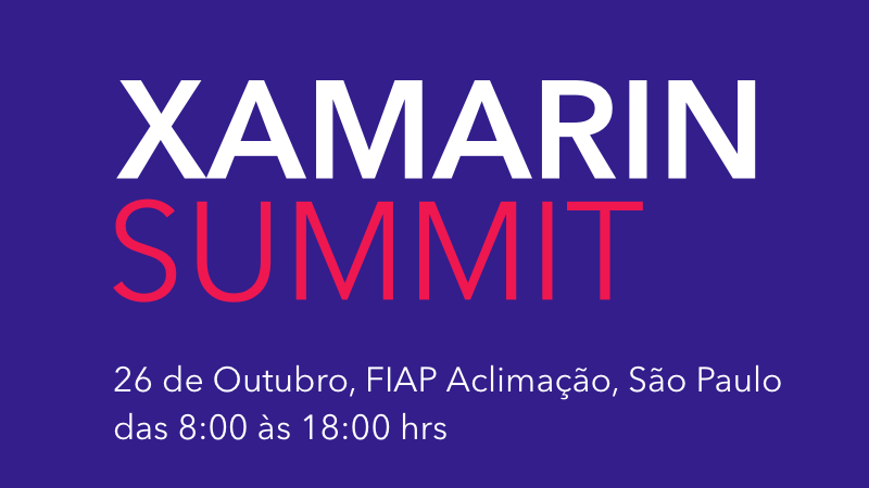 Evento Xamarin Summit