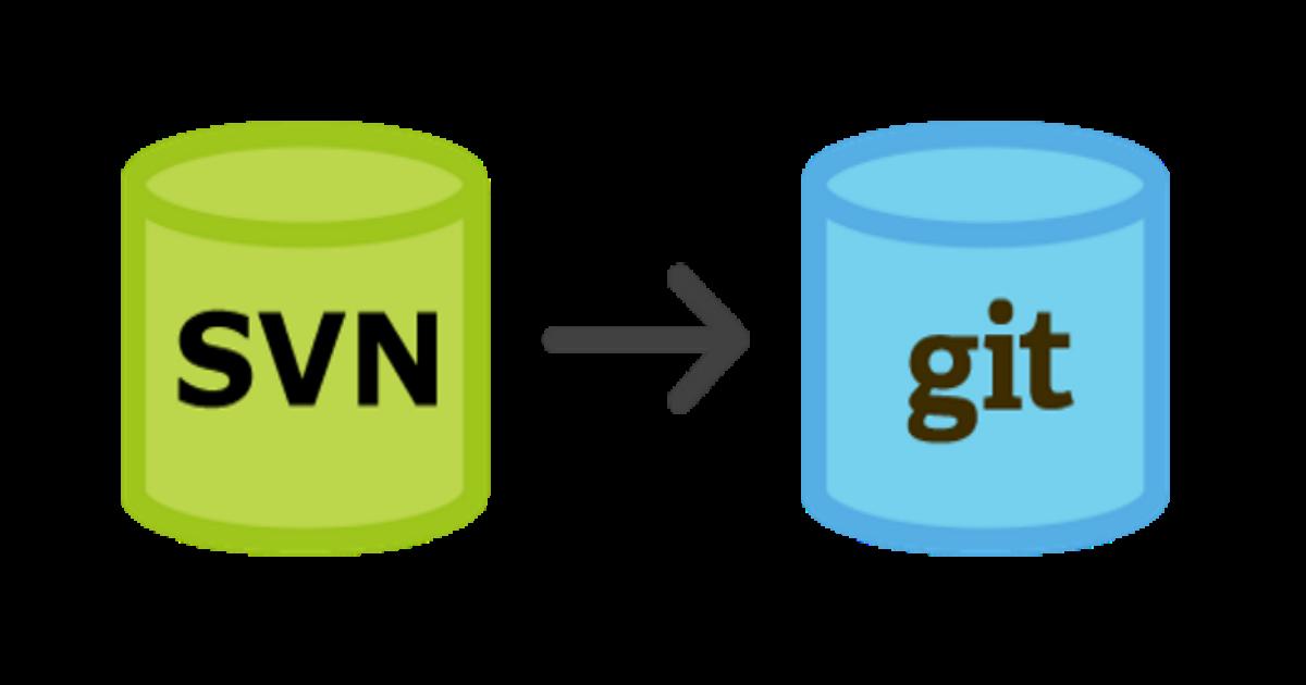 Importando repositórios SVN para o GIT