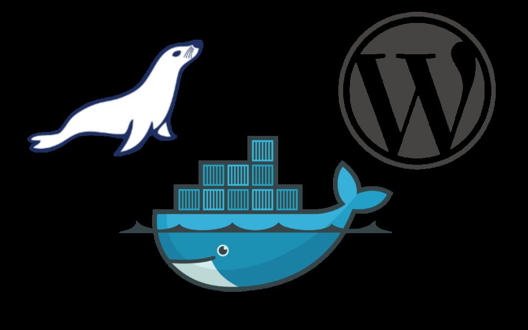 Migrando um blog do WordPress para um contêiner Docker