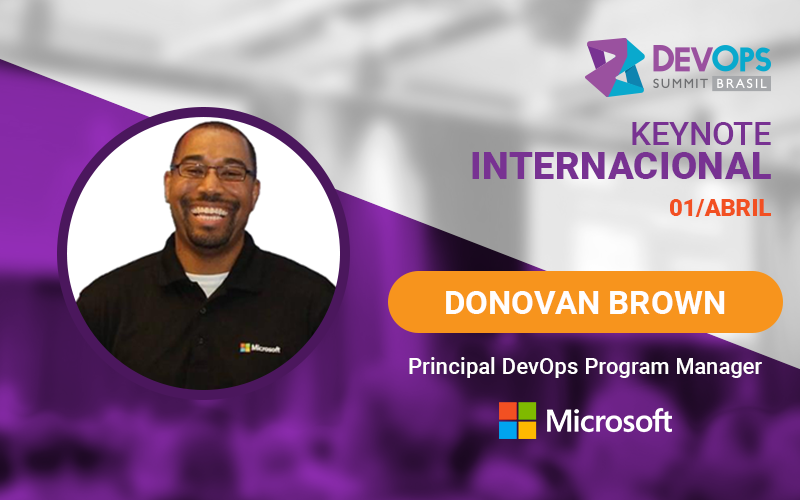Donovan Brown no DevOps Summit Brasil!