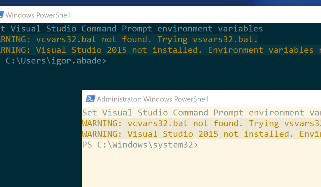 Solarized, PowerShell e prompt elevado