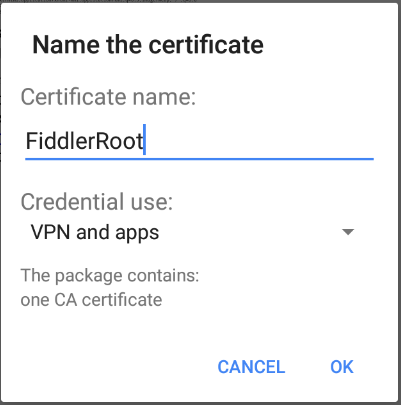 instalação no Android