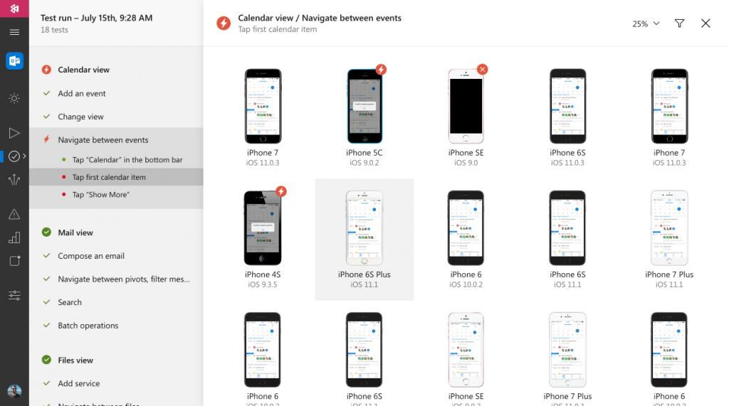 Instrumentação completa para aplicativos mobile com Visual