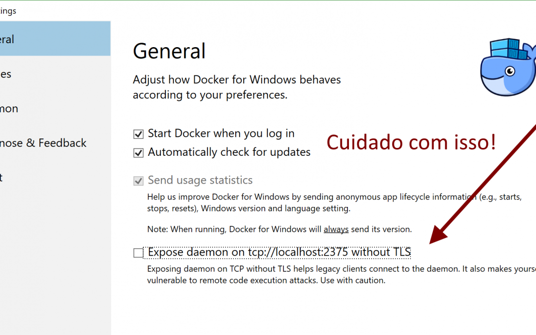 Rodando Docker a partir do WSL no Windows