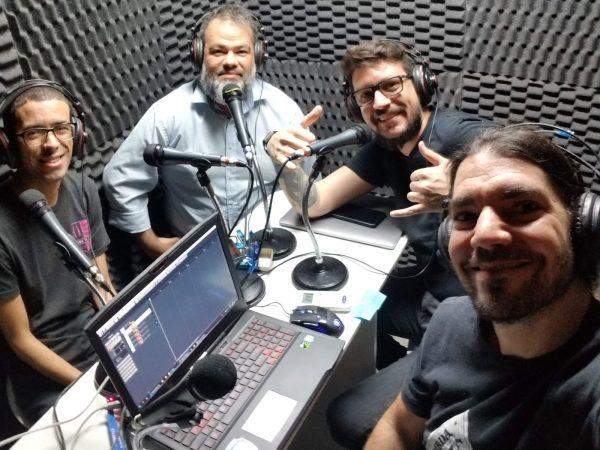 Orlando, Emmanuel, Vinicius e Giovanni
