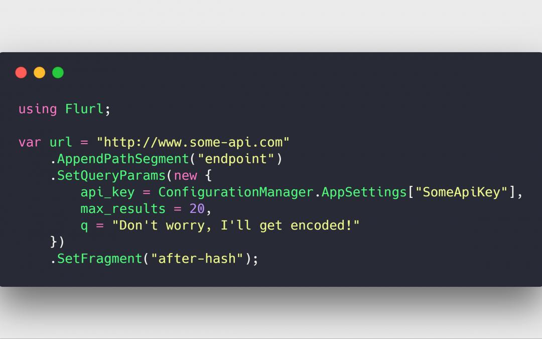 Chamadas HTTP mais legíveis para .NET com Flurl
