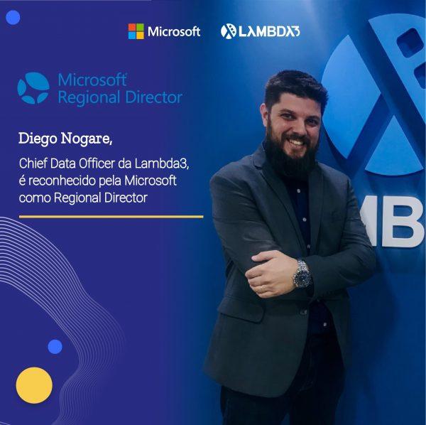 Lambda Diego Nogare é nomeado Regional Director da Microsoft