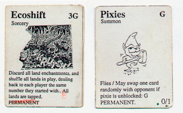 Primeiras cartas de Magic