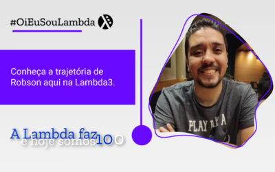 Oi, Eu Sou Lambda | Conheça a História de Robson Amorim